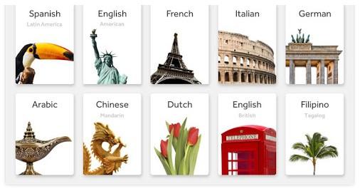 Rosetta Stone Learn Languages App